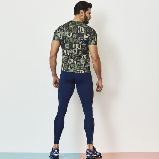 A legging masculina é perfeita para a hora do treino