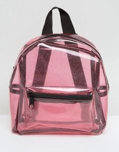 mini mochila rosa