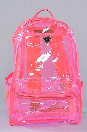 mochila rosa moderna