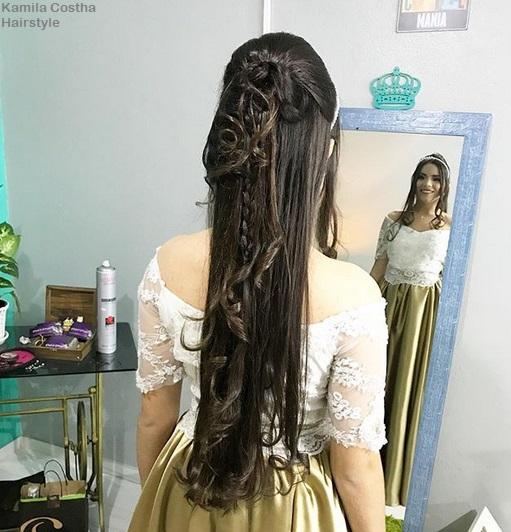 penteado viking feminino