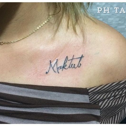 Tattoo diferente para quem prefere modelos conceituais