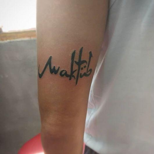 As tatuagens no braço são famosas, sem dúvidas boas alternativas para seu estilo