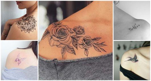 Tatuagem no Ombro Feminina – 81 Inspirações Perfeitas & Muitas Dicas!