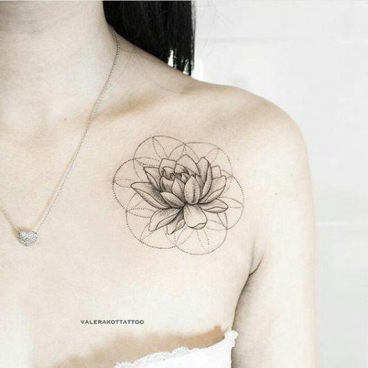 Tatuagem No Ombro Feminina 81 Inspirações Perfeitas