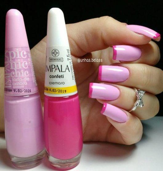 francesinha pink