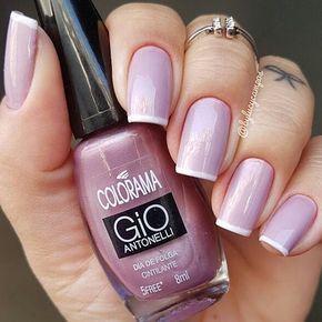 esmalte rosa cintilante