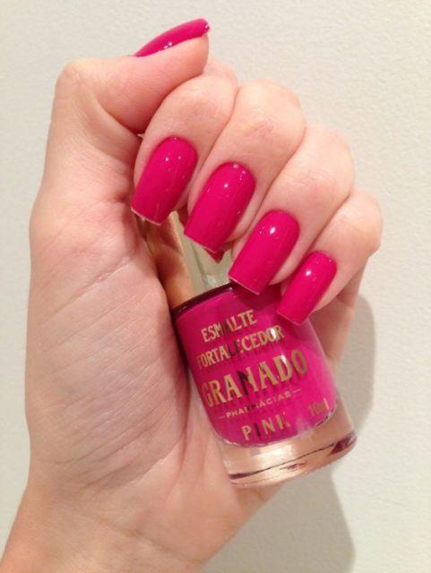 esmalte pink granado