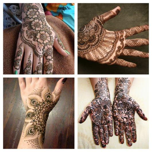 90 inspirações incríveis de tatuagem de henna para todos os gostos!