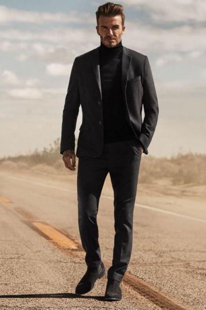 Look all black para usar no dia a dia, principalmente para ir trabalhar