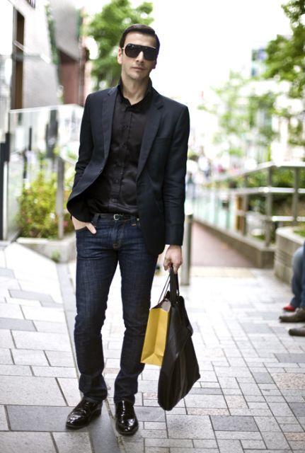 Para um look mais confortável, use com calça jeans
