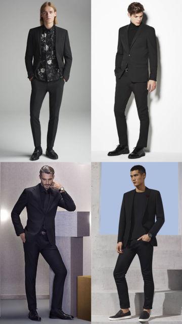 Seu look fica totalmente sofisticado e impecável com o blazer preto masculino