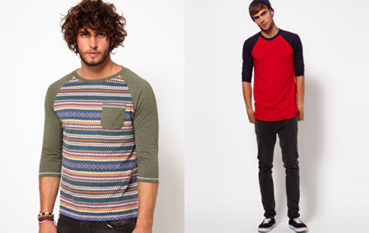 Modelos listrados e em cores quentes também se destacam no estilo de vários rapazes