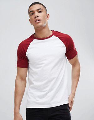 A junção de branco com vermelho é uma bela opção para vários estilos