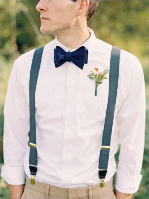 Look chique e sofisticado para casamentos diurnos - ótimo para padrinhos e até para o noivo