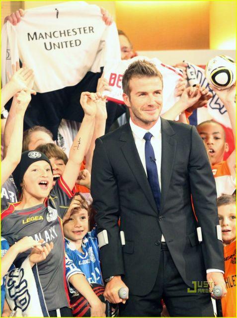David Beckham também é adepto dessa  tendência