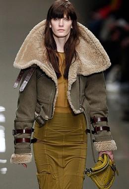 jaqueta aviador com saia