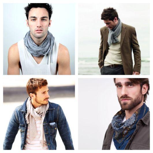 50 inspirações para usar lenço masculino de formas incríveis!