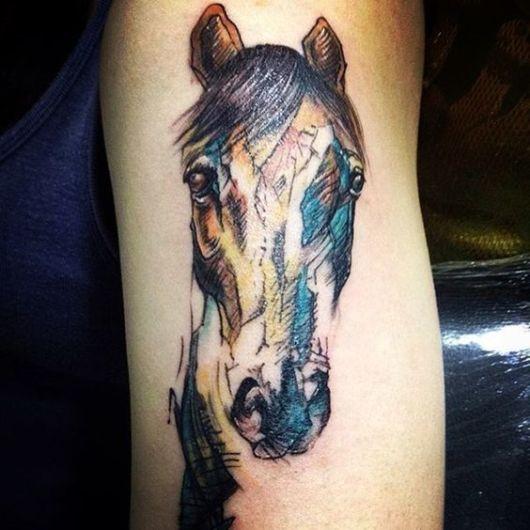 Capriche nos detalhes no rosto para deixar sua tattoo com um aspecto original