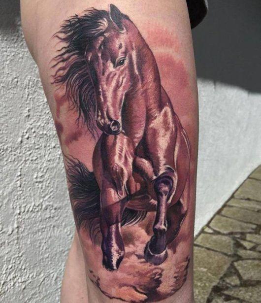 O acabamento faz toda a diferença para deixar a tatuagem linda