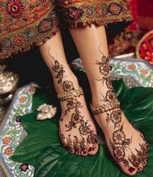 A tattoo fica linda e pode seguir vários conceitos
