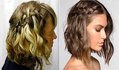 Trança cascata: em cabelo curto
