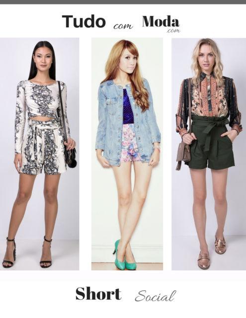 Como Usar Short Social – 50 Modelos Elegantíssimos & Dicas de Looks!
