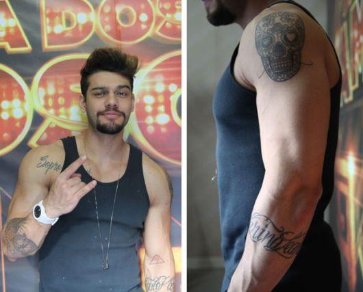 Lucas Lucco também é uma inspiração para quem deseja tatuar todo o corpo