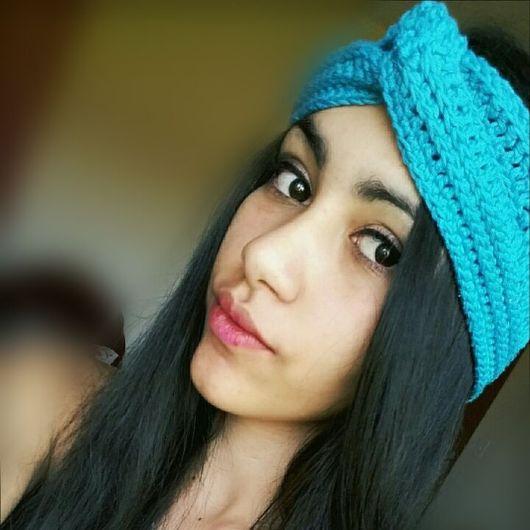 dicas para usar turbante de crochê