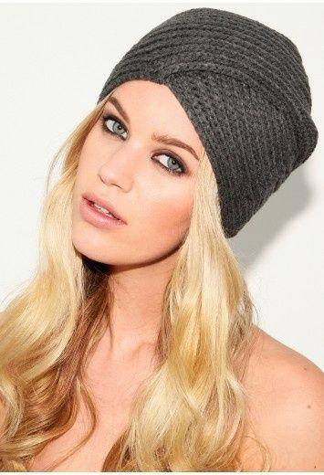 turbante de crochê preto básico