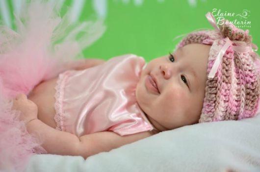 turbante de crochê para crianças