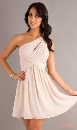 vestido grego rosa simples