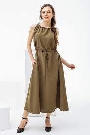 vestido grego drapeado marrom