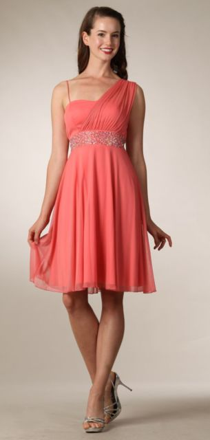 vestido grego rosa curto