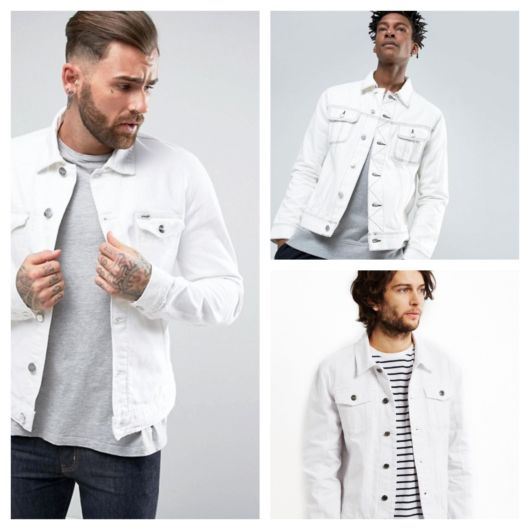 Jaqueta Branca Masculina – Aprenda a Usar Com Muito Estilo!
