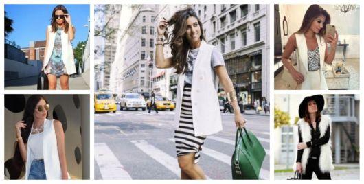 Como Usar Colete Branco – Inspire-se com os 37 Looks Mais Elegantes!