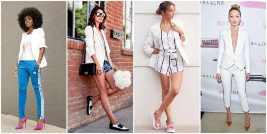 Como Usar Blazer Branco – 73 Looks Espetaculares Para Se Inspirar!