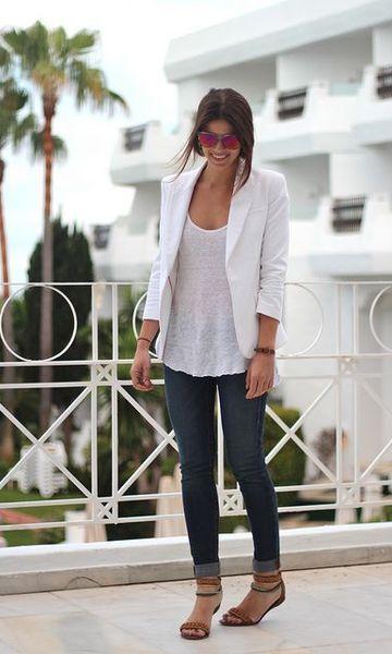 calça jeans com rasteirinha