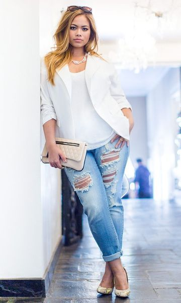 look plus size casual