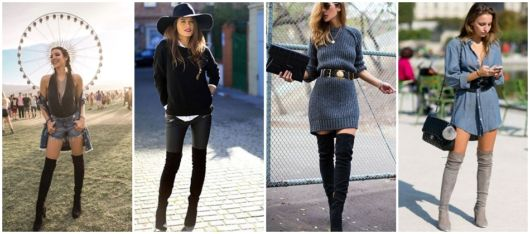 looks com bota over the knee