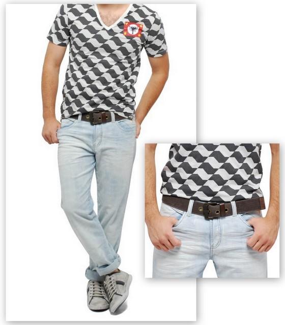 Que tal usar com camiseta em um perfil descolado?