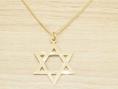 A estrela de Davi é uma opção bacana para quem busca acessórios em cunho religioso