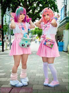 como se vestir com o estilo kawaii