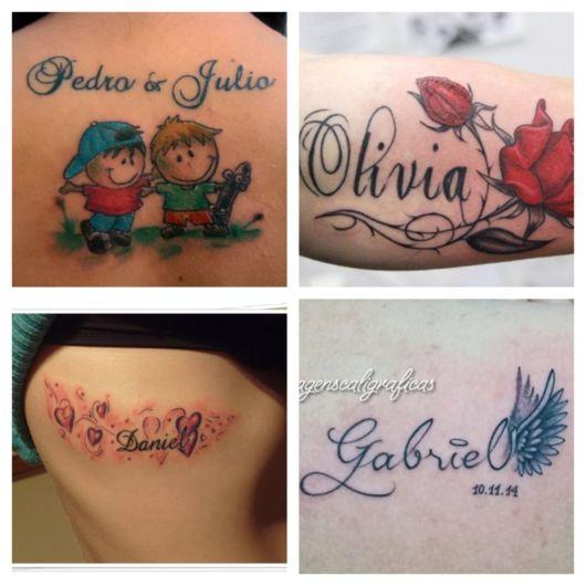 Miniaturas, rosas, asas, corações...