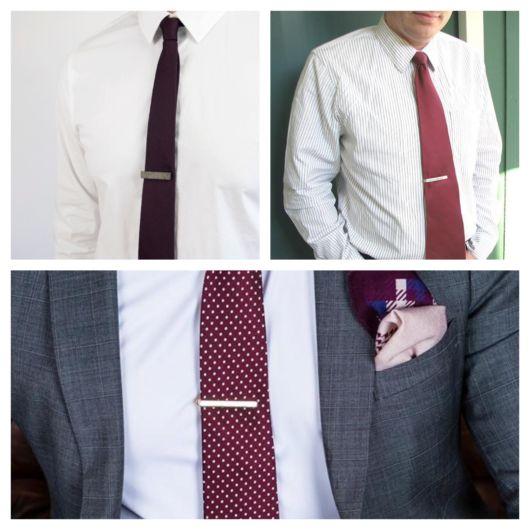 Você pode usar esse acessório com diferentes modelos e cores de gravata