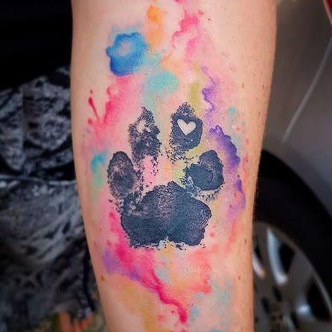 tatuagem criativa patinha