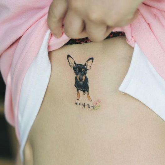 tatuagem costela
