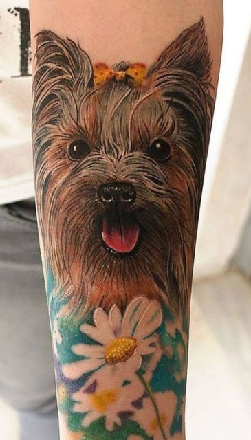 tatuagem grande braço