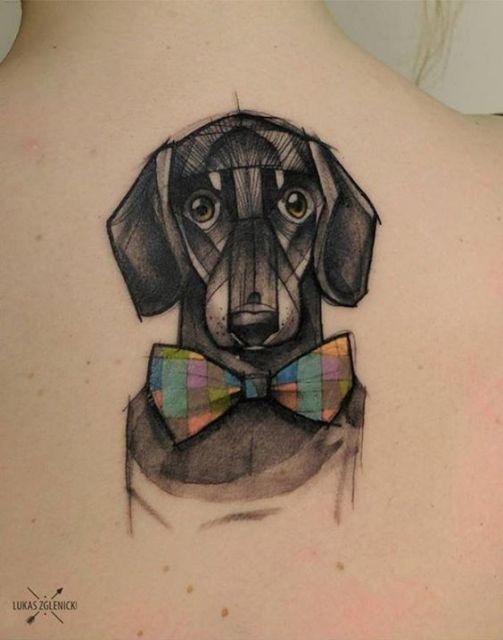 tatuagem para as costas