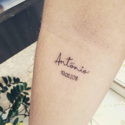 Tatuagem Com Nomes 100 Ideias E Estilos Incríveis Para Tatuar