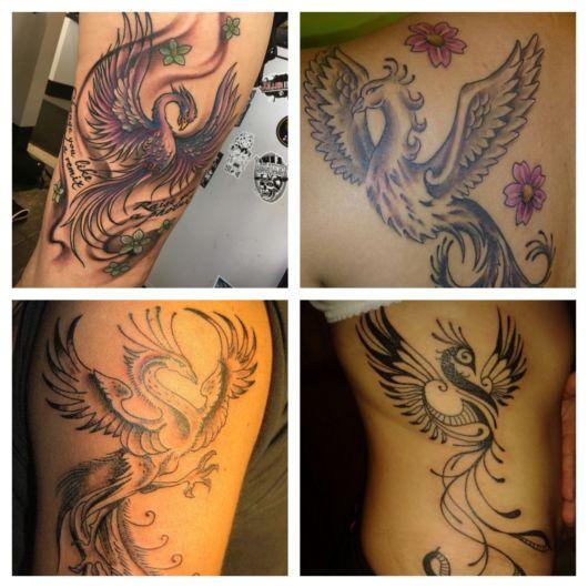 100 inspirações de tatuagem de fênix + dicas incríveis